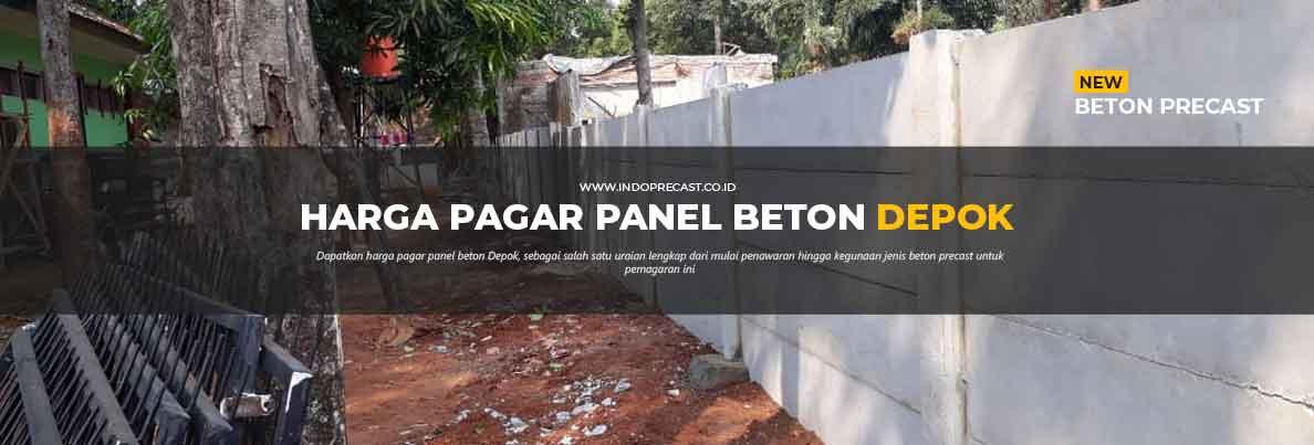 Harga Pagar Panel Beton di Depok